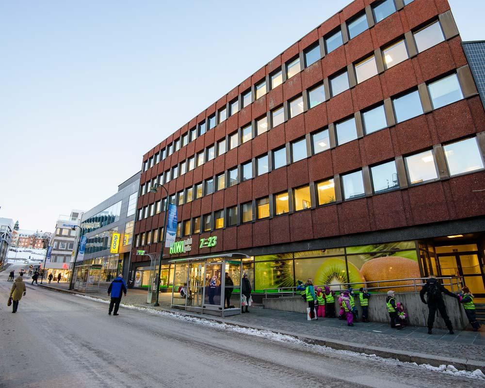 Fr. Langesgate 19/21 i Tromsø sentrum